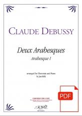 Debussy: Arabesque 1, bearbeitet für Theremin & Klavier - Download