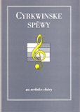 Sheet music: Sorbian church songs – for choirs