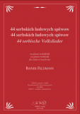 Sheet music: 44 Sorbian Folk Songs – for vocal & guitar