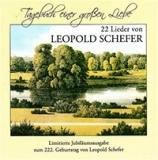 """CD """"Tagebuch einer großen Liebe"""" Lieder von Leopold Schäfer"""
