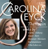 CD Carolina Eyck (Theremin) plays classical works
