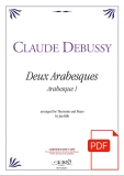Debussy: Arabesque 1, arr. for Theremin & Piano - Download